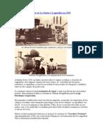 Locomotora de Vapor de La Salina a Lagunillas en 1929