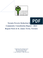 Poverty Report Toronto 2015