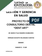 Proyecto de Consultorio dental