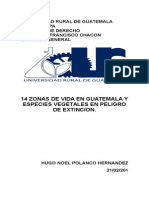 Guatemala tiene 14 zonas de vida