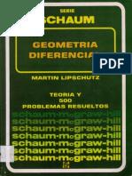 Geometria Diferencial Derie de Schaum