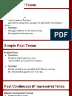 simple past&past continuous