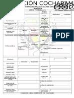 formulario de asociacion al triatlon cochabamba