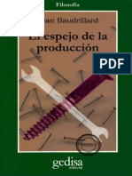 El espejo de la producción - Jean Baudrillard.pdf