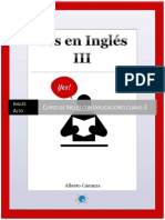 Libro Yes en Ingles 3 Thank You Edition
