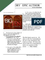 Esea 08 the Ten Commandments