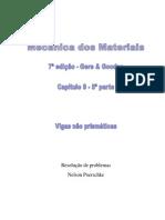 Deflexão Em Vigas, Vigas Não Prismáticas, Gere, 7ª Edição, Exercícios Resolvidos