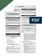 LEY N° 30077 - Ley CONTRA EL CRIMEN ORGANIZADO
