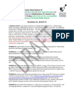 DRAFT Resolution to Suspend SBAC (Common Core) Testing PETERS & PATU (Seattle) (1)