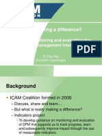 ICAM Are We Making a Difference?