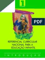 Referencial Curricula Nacional para a Educação Infantil - vol.1