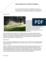 Standards For Essential Aspects For Garden irrigation Rainbird