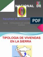 TIPOLOGIAS DE VIVIENDAS EN LA SIERRA.pptx