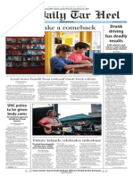 The Daily Tar Heel for July 23, 2015