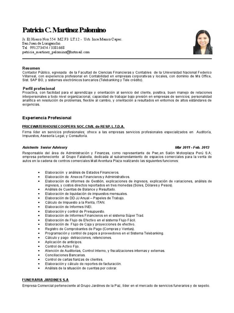Lujo Un Buen Ejemplo De Currículum Para El Servicio Al Cliente ...