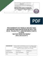 PROCE. STYN-PTS-IC-009 soldadura DE (SPLIT  TEE) (1).doc