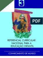 Referencial Curricular Nacional para a Educação Infantil - vol.3
