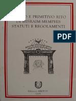 Reglamento SS Del Adriatico MM