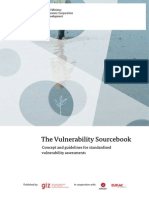 Vulnerability Sourcebook Guidelines for Assessments Adelphi Giz 2014