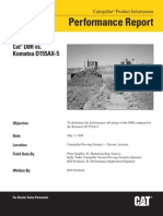 Analisis Comparativo Cat® D8R Series vs. Komatsu D155AX-5 Performance Report