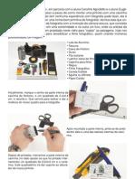máquina fotográfica pinhole - caixa de fosforo