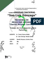 Buendia Huayanca Carolina - Ultimos avances en el parkinson.docx
