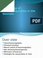 thermoregulation 2012