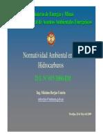 Normtividad Ambienteal en Los Hidrocarburos