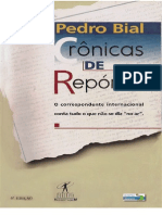 Bial, Pedro - Cronicas de Reporter