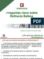 Preguntas claves sobre la Refinería Balboa.ppt