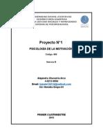 Teorías de la motivación, sus conceptos, principios y características.