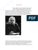 Albert Einsten biografia