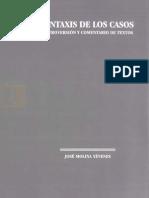 213573454 Molina Yevenes J Sintaxis de Los Casos