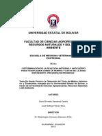 Toxoplasma en Sur de Quito