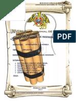 Informe Final de Explosivos
