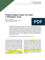 Philippine Claim to Sabah