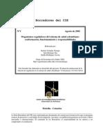 Organismos Reguladores Del Sistema de Salud Colombiano