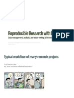 Reproducible Research With Rmarkdown