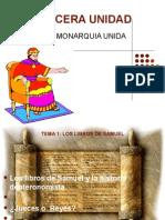 Libros Historicos de la biblia 3 UNIDAD