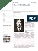 Teorias Del Aprendizaje_ Thorndike