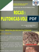 II - Roca Plutonicas Volcanicas