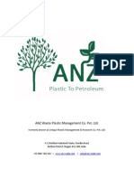 ANZ Plastic Waste Management
