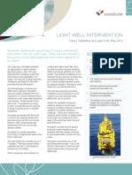 Light Well Intervention Fact Sheet 2012