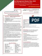 Effective Channel Management MasterClass 2015 - Copy
