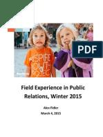 public relations campaign