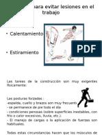 ejercicios para evitar lesiones de trabajo