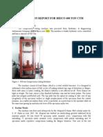 Utilization Report HEICO 400Ton CTM