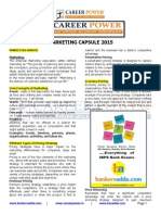Marketing Capsule 2015
