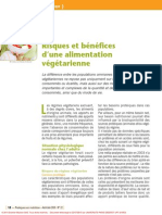 Risques Et Bénéfices d'Une Alimentation Végétarienne (Noémie Galland, 2010)