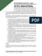 Trabajo Domiciliario # 3 - Proyecto Industrial